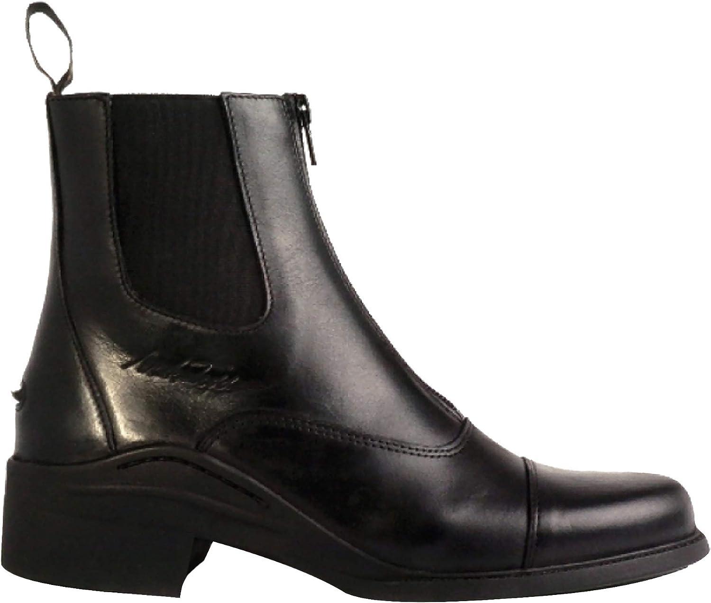 Mark Todd Adults Chetwode Zipped Paddock Boots