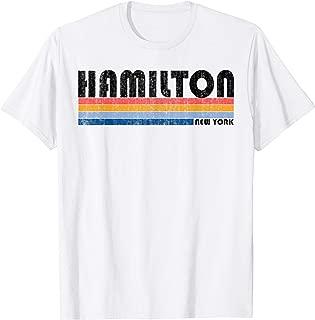 Vintage 1980s Style Hamilton, NY T-Shirt