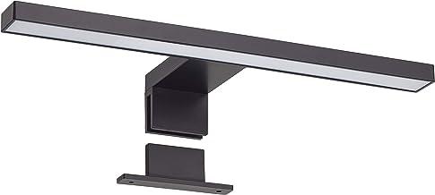 Oktaplex Lighting LED Spiegellamp Java 5W IP44 zwart | 3000K warm wit | 320Lm 30cm spiegelverlichting boven spiegel badkammer