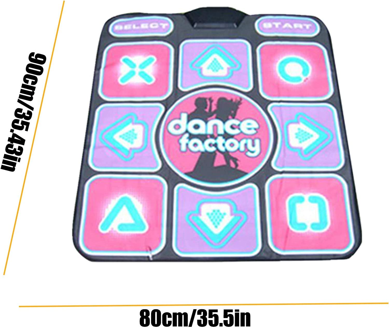Non-Slip Dancing Mats Floor Games Carpet with 50 English Music Avenidtich Dance Mat Home Exercise Set Interactive Dance Revolution Toy Set for Family 1 Kit Dance Game for Kids Boys /& Girls