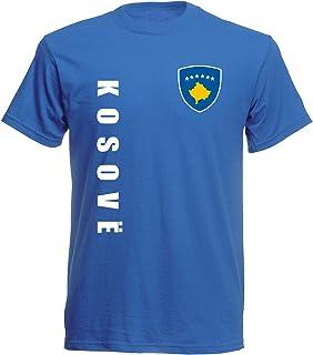 aprom Kosovo Sp/A royal - T-Shirt Fußball Trikot