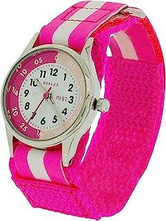 10X Bulk for School Reflex Time Teacher Girl Kid Pink Easy Fasten Watch REFK0006 + Awards