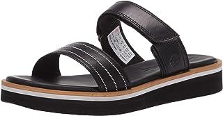 Timberland Adley Shore 2_Band Leather Slide Sandal womens Slide Sandal