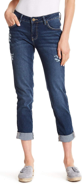 Jag Jeans Kyla Distressed Girlfriend Jeans, Bowery wash