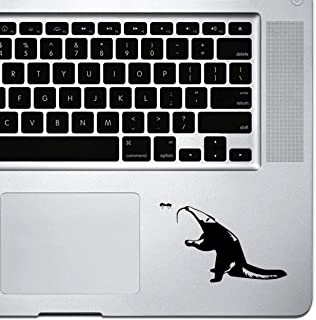 StickAny Palm Series Anteater Sticker for MacBook Pro, Chromebook, and Laptops (Default) Black 1049-55955
