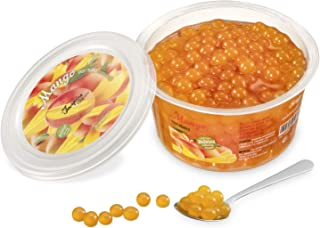 Popping bobas de Mango para Bubble tea, paquete de 450gr