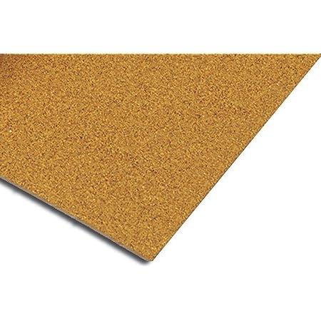 QEP 72001Q Natural Cork Underlayment 1/2 inch Sheet 150 sq. ft. (25 sheets) , Brown