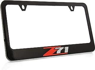 Best z71 license plate frame Reviews