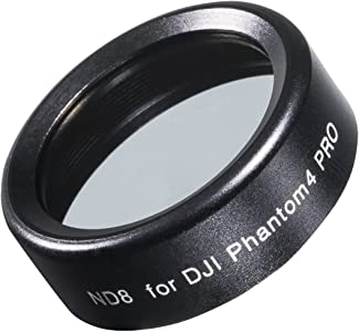 walimex pro Drohnen DJI Phantom 4  Pro ND8  Filter  Includes Case  Bla...