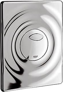 Grohe Wave 38963000 Wc-bedieningsplaat, voor 2 hoeveelheden en start- en stopbediening voor pneumatische afvoerventiel), c...