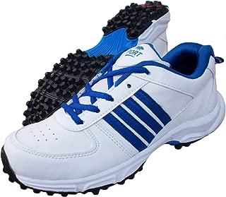 Port Men's Booster White PVC Cricket Shoes
