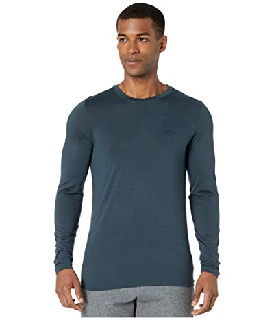 Fjallraven Abisko Wool Long Sleeve (Dark Navy) Men