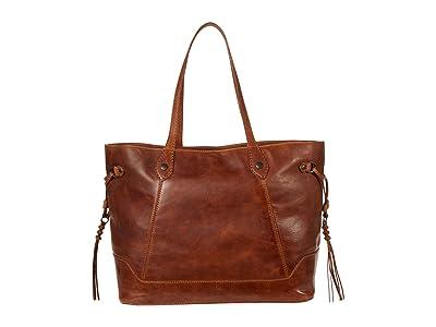 Frye Melissa Large Carryall (Cognac) Handbags