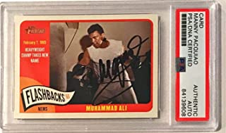 2014 Topps Heritage Manny Pacquiao Pacman Signed Trading Card Slabbed - PSA/DNA Certified - Autographed Boxing Cards