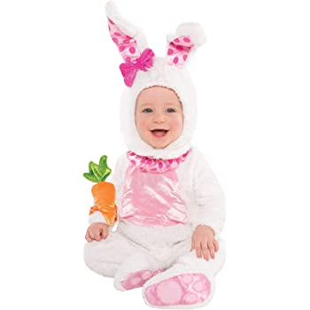 12-18 MESI Baby Pink Bunny Costume festa di Pasqua da Travis Dress Up By Design