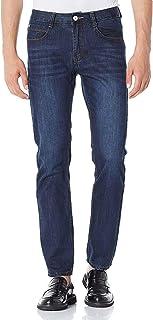 Demon&Hunter 802 Series Hombre Pantalones Vaqueros Straight Corte Recto