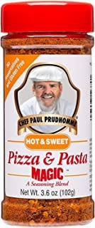Chef Paul Magic Seasoning Blends Hot & Sweet Pizza & Pasta Magic, 3.6 Ounce (Pack of 1)