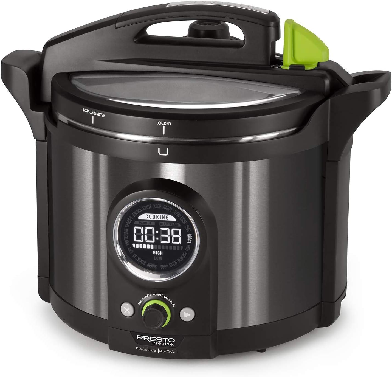 National Presto Electric Pressure Cooker 10-Quart