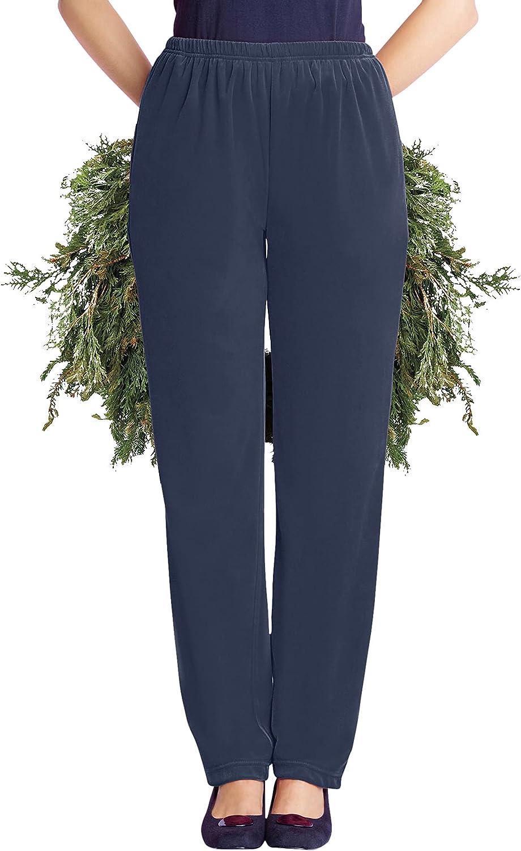 Woman Within Women's Plus Size Velour Pant