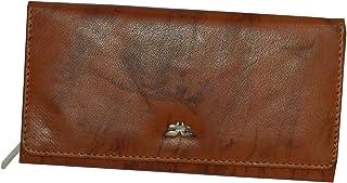 Laveri Tan Leather For Women - Flap Wallets