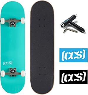 Mini Fingerboards Element Skateboards Series 12 Golden Hour Complete Deck with Grizzly Black Light Griptape