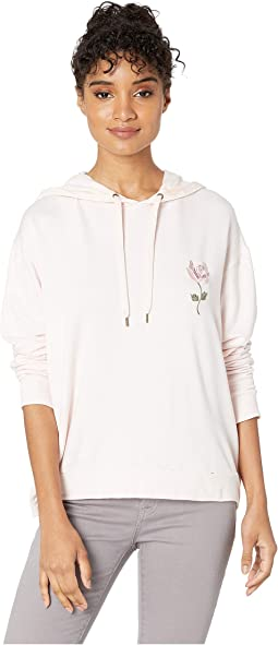 Ruched Back Lounge Hoodie