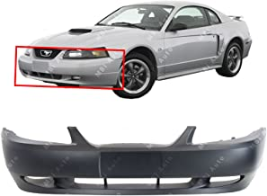 MBI AUTO - Primered, Front Bumper Cover Fascia for 1999 2000 2001 2002 2003 2004 Ford Mustang GT 99-04, FO1000439