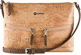 Corkor Cork Purse Crossbody Women Handbag from Portugal | Vegan Leather