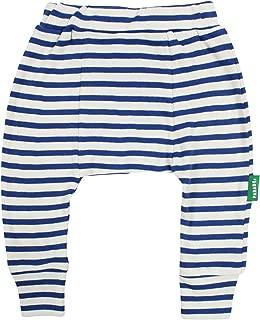 PARADE ORGANICS Harem Pants - Signature Prints Breton Stripe Cobalt 2T