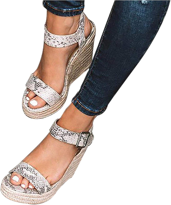 FABIURT Flat Sandals for Women, Womens 2021 Summer Bohemian Bowknot Flats Slippers Beach Travel Shoes Open Toe Sandals