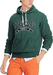 Men's Logo Fleece Hoodie College Green Small