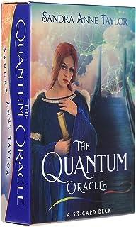 53枚のカード/ Quantum Oracle Card、将来の運命のゲームのデッキタロットのトランプ、英語タロット区画板ゲームガイドカード,card+tablecloth