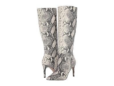 Steve Madden Kinga Knee High Boot (Natural Snake) Women
