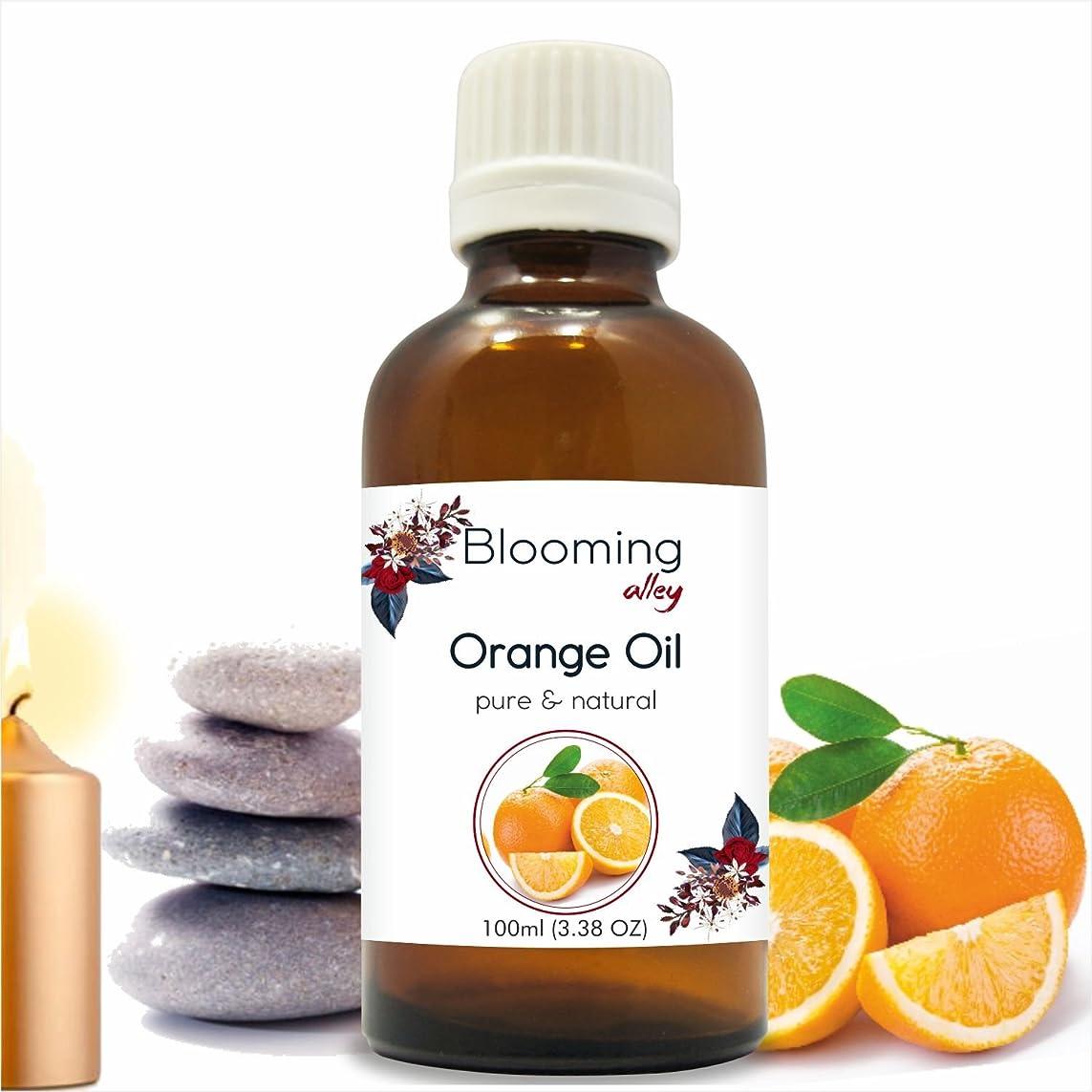 上流の太平洋諸島不安定なOrange Oil (Citrus Aurantium) Essential Oil 100 ml or 3.38 Fl Oz by Blooming Alley