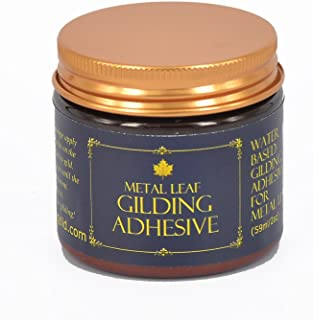 Gilding Adhesive 60ml - by Barnabas Blattgold - Water Based Gold Leaf Sheets Size