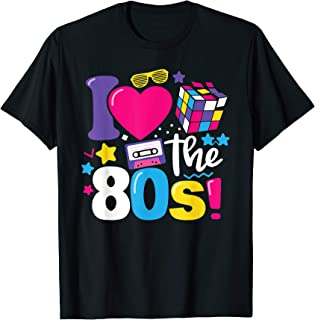 8a806265a3bdb I Love The 80s Gift Clothes for Women and Men