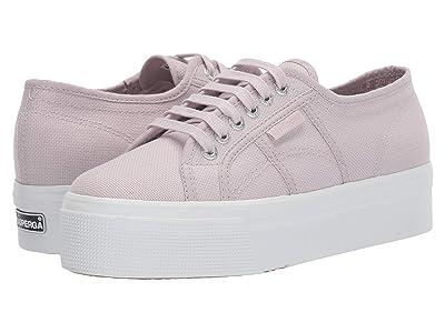 Superga 2790 Acotw Platform Sneaker (Violet Light Silver) Women