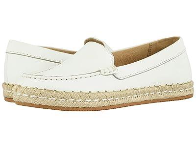 Naturalizer Alexa (White Pebble Leather) Women