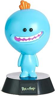 Paladone Rick and Morty Mini lampa Mr. Meeseeks svart/blå, tryckt, av plast, i presentförpackning, PP4993RM, Mr Meeseeks, ...