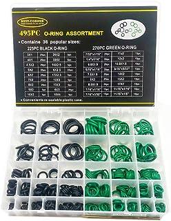 Busy-Corner SAE Metric O Ring Kit Orings Assortment Kit 495 Pcs with o-Ring Pick & Installation...
