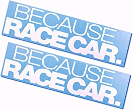 Best because race car decal Reviews