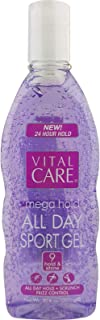 (Pack of 12) Vital Care Hair Gel Mega Hold, Purple, 10.6oz