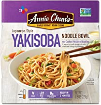 Annie Chun's Yakisoba Noodle Bowl, Non-GMO, Vegan, 7.9 Ounce, Pack of 6