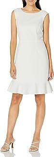 Women's Caped Ruffle Dress