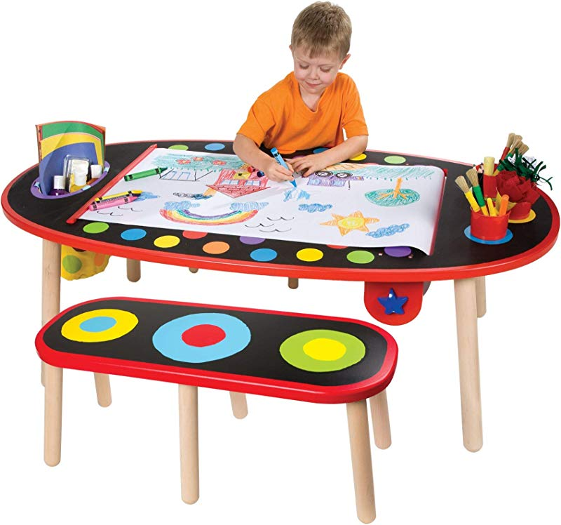 ALEX Toys Artist Studio Super Art Table With Paper Roll Renewed