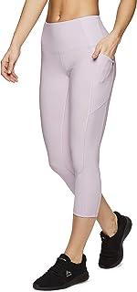 RBX Active Women's Seasonal Printed Capri Length Yoga Leggings