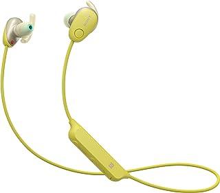 Sony WI-SP600N Sport hoofdtelefoon (draadloos, ruisonderdrukking, NFC, IPX4 waterbestendig, 6h accu, extra bass, handsfree...
