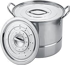 Aramco AI14830-8 Alpine Cuisine Stock pot, 9.5 Quart, Stainless Steel