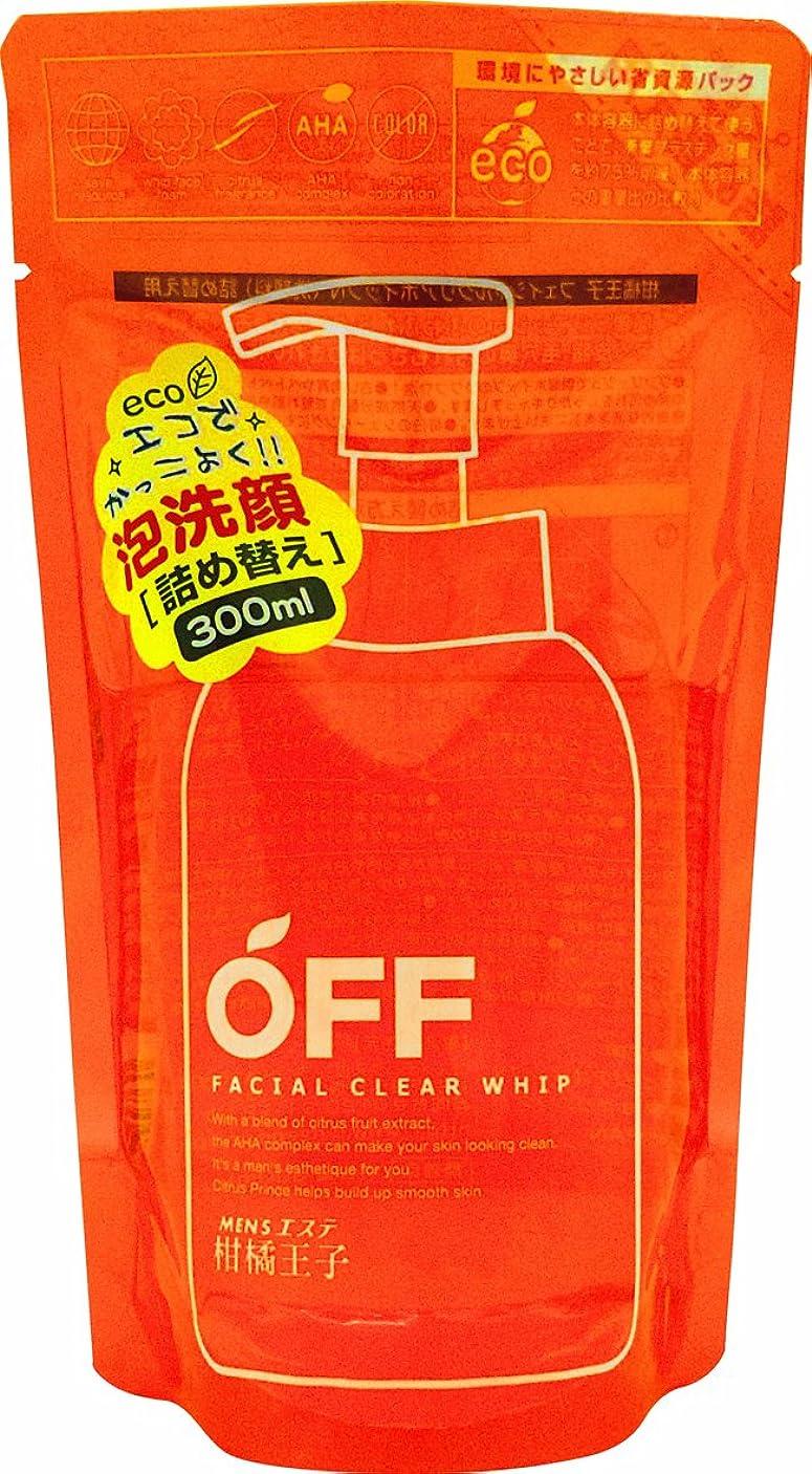 ジャンク最小南柑橘王子 フェイシャルクリアホイップN レフィル 300ml
