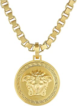 Versace Venetian Chain Medallion Necklace